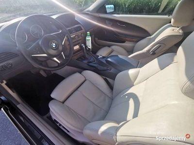 używany BMW 333 645CI 4.4 Ben GAZ km skóra Navi Zamiana