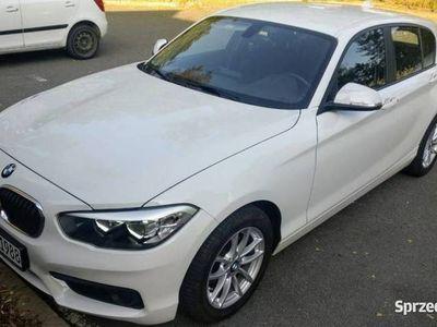 używany BMW 118 1.5dm 136KM 2018r. 58 000km
