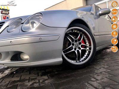 używany Mercedes CL500 5dm3 306KM 2002r. 264 000km 5.0v8 abc-sport stan idealny zadbany 2 lata gwarancji zamiana