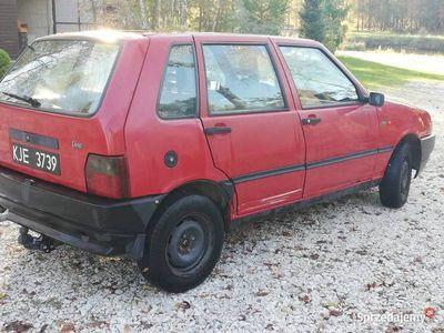 używany Fiat Uno od 1wlaściciela czarne tablice
