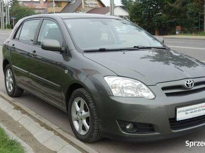 używany Toyota Corolla 2dm 116KM 2005r. 178 000km