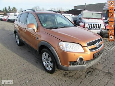 używany Chevrolet Captiva I Exclusive Aut Skóra 4x4 Climatronic Książka Serwisowa, Nieborowice K/gliwic