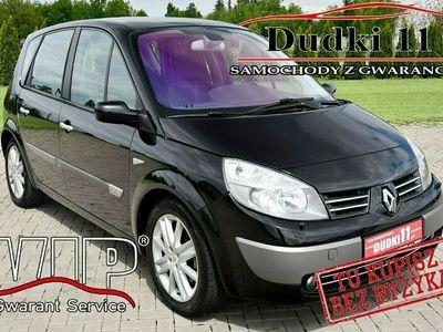 używany Renault Scénic II 2,0b DUDKI11 Klimatronic,Xenon,Parktronic,Hands-Free.Serwis,GWARANCJA
