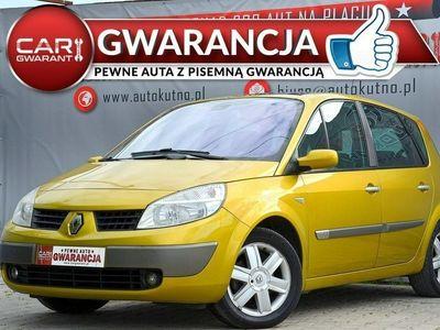 używany Renault Scénic 1.6dm 110KM 2004r. 243 000km