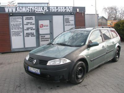 used Renault Mégane 1.6dm 113KM 2003r. 291 000km