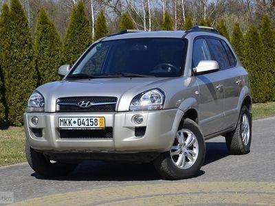 używany Hyundai Tucson 2.0 benzyna 141PS Klimatronic Tempomat ALU