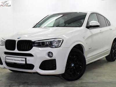 gebraucht BMW X4 2dm3 245KM 2016r. 77 332km xDrive28i 245KM Salon PL EDC NAVI M Pakiet Skóra Dostęp komfortowy VAT