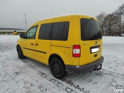 używany VW Caddy III 2.0SDI ciężarowy 2x dzwi hak 217tyś Koszalin