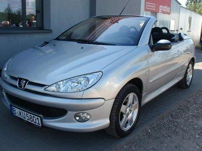używany Peugeot 206 CC 1.6dm 110KM 2006r. 116 441km