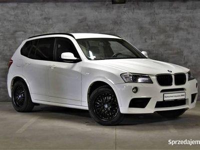 używany BMW X3 184KM M-Pakiet NAVI Professional Skóra Nevada Salon PL F25 (2010-)