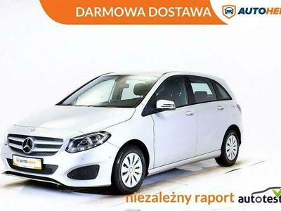 używany Mercedes B180 DARMOWA DOSTAWA, Serwis ASO, LED, Klima, 1 Właściciel, W246 (2011-)