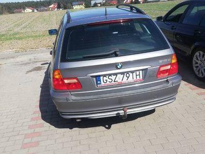 używany BMW 318 e46 d zamienie