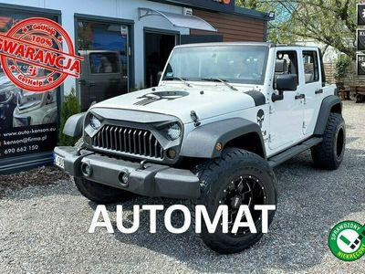używany Jeep Wrangler JK Unlimited X-Sport, Ściągany dach, Klimatyzacja, Felga 35 cal, Hak III (2006-)
