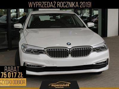 używany BMW 520 SERIA 5 520 2.0 d xDrive (190KM) | LUXURY LINE + Pakiet serwisowy 5 LAT!