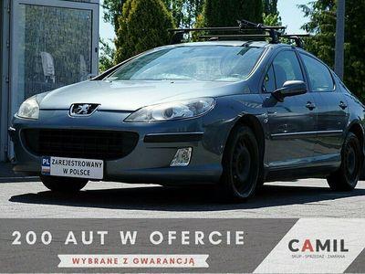używany Peugeot 202 407 2dm 136KM 2006r.000km