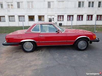używany Mercedes SL380 R107 1982 3w1 Cabrio roadster coupe