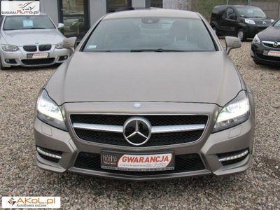 używany Mercedes 350 CLS 3dm3 265KM 2014r. 67 000kmCdi 4 matic AMG Full LED MAT