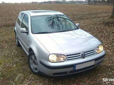 używany VW Golf IV 1.9 TDI 110KM, 1998r, alufelgi, szyberdach,stan db