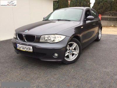 brugt BMW 120 2dm3 163KM 2006r. 207 142km Seria 1 Seria 1 2,0d 6 biegów climatronic SUPER STAN