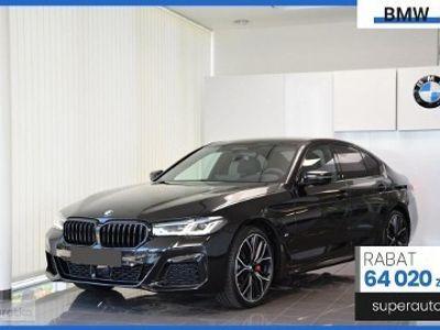 używany BMW 520 SERIA 5 VII (F90) 520 2.0 d xDrive (190KM) | M SPORT | + Live Cockpit + Shadow Line