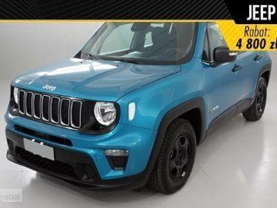 używany Jeep Renegade Face lifting Sport 1.0 Turbo 120KM Dwustronna podłoga bagażnika+ Koło Dojazdowe