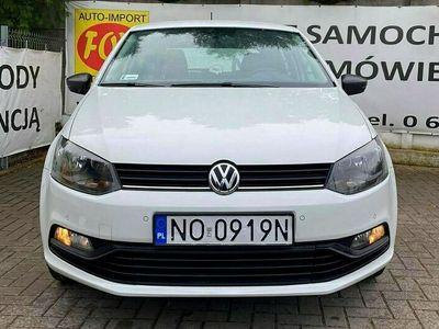 używany VW Polo 1.0MPI 60KM alufelgi, czujniki parkowania, Salon PL V (2009-2017)