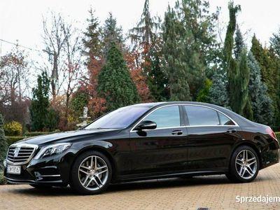 używany Mercedes S500 4.7dm 455KM 2016r. 34 000km