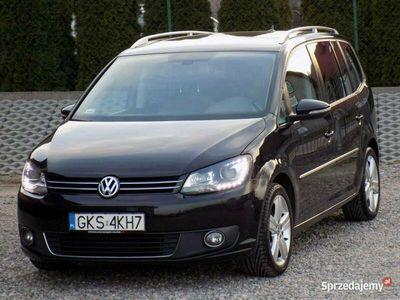 używany VW Touran HIGHLINE 177KM Bixenon Led Navi Kamera ParkAssist Alcantara DSG II (2010-2015)