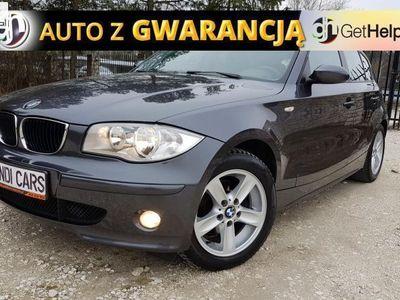 używany BMW 120 seria 1 2dm3 150KM 2005r. 215 121km i 150KM # Półskóra # NAVI # Jak Nowa # Gwarancja Przebiegu