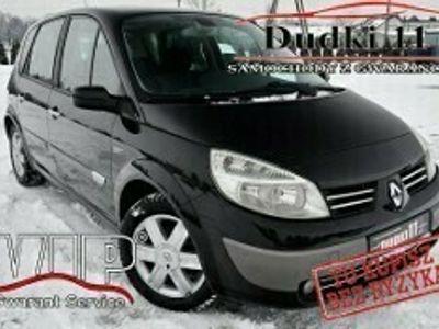 używany Renault Scénic II 1,6b DUDKI11 Klimatronic,Serwis,Navi,2xSzyberdach,Okazja II (2003-2009)