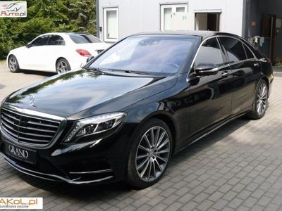 używany Mercedes S500 4.7dm3 455KM 2016r. 29 000km AMG 4Matic Long 9G. Full
