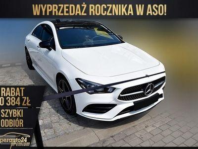 używany Mercedes 200 Klasa CLA amg 1.3(163KM) | AMG + Premium + Night + dach pan. | Wyprzedaż, Chorzów