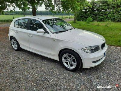 używany BMW 118 2.0d 143KM z Niemiec Zadbany Klima Bezwypadkowy Opłacony Gwarancja E87 (2004-2013)