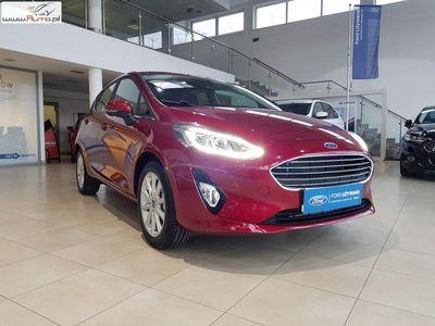 używany Ford Fiesta VI 1.1Benzyna 85KM, Fabrycznie Nowy, Wersja Titanium, FV VAT