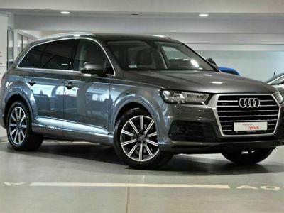 używany Audi Q7 II 3.0TDI quattro 286KM Oś skrętna, asystenci, pneumatyka,