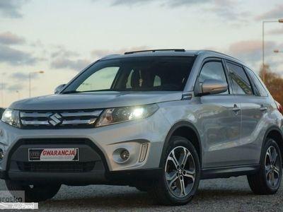 używany Suzuki Vitara II SKÓRA panorama NAPĘDY 4x4 NAVI alusy KAMERA parktronik LEDY, Otmuchów