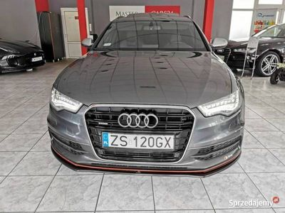 używany Audi A6 Quattro 327 KM Matrix Fotele RS 2x S-Line Serwis ASO Gwarancja