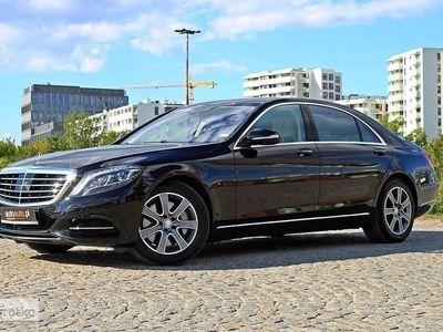 używany Mercedes 500 Klasa S W222Salon Polska! S500L! Minimalny Przebieg! Serwisowany! Po Ambasad