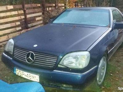 używany Mercedes CL600 1994 pełne wyposażenie 408KM