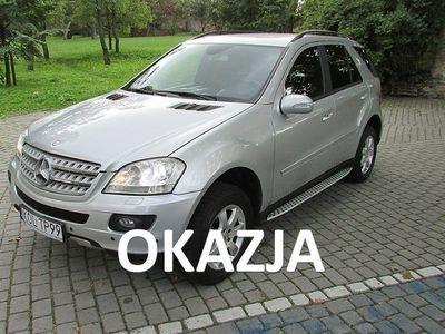 używany Mercedes ML300 3dm 190KM 2007r. 215 000km