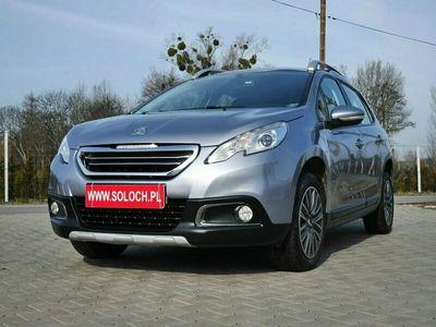 używany Peugeot 2008 1.6dm 120KM 2015r. 57 000km