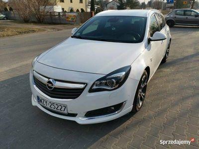używany Opel Insignia opc line biały piękna zadbana super stan