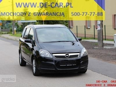 używany Opel Zafira Zafira B1,8 16V 143 TYŚ KM, KLIMA, ALU, GWARANCJA