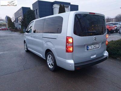 używany Citroën Spacetourer 2dm3 150KM 2018r. 1 092km BlueHDi XL Feel HDI ABS automatyczna klima.