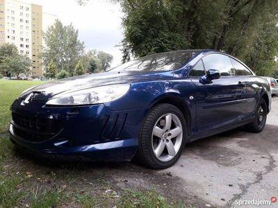 używany Peugeot 407 Coupe możliwa zamiana