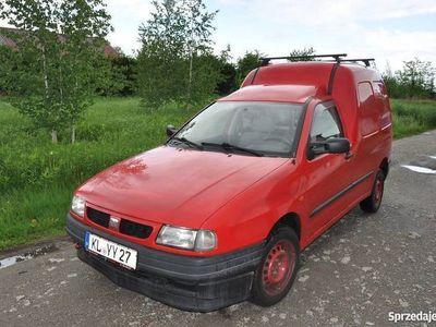 używany Seat Inca 1.9 SDI Diesel sprowadzony z Niemiec do rejstracji