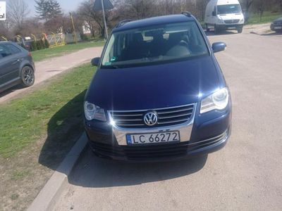 używany VW Touran 1.9dm 105KM 2008r. 238 000km