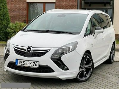 używany Opel Zafira OPC Line 170KM Xenon Led Navi Kamera Maxx Opcja 7 Miejsc !!!