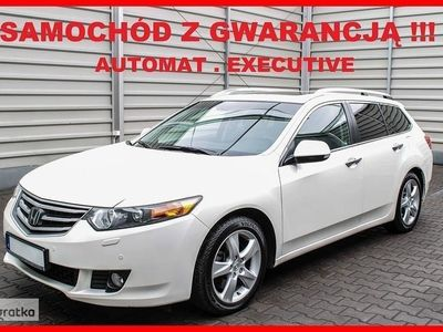 used Honda Accord VIII EXECUTIVE + Automat + Navigacja + Skóra !!!