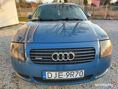 używany Audi TT quattro,1,8 turbo ben.+GAZ,full opcja,ZAMIANA